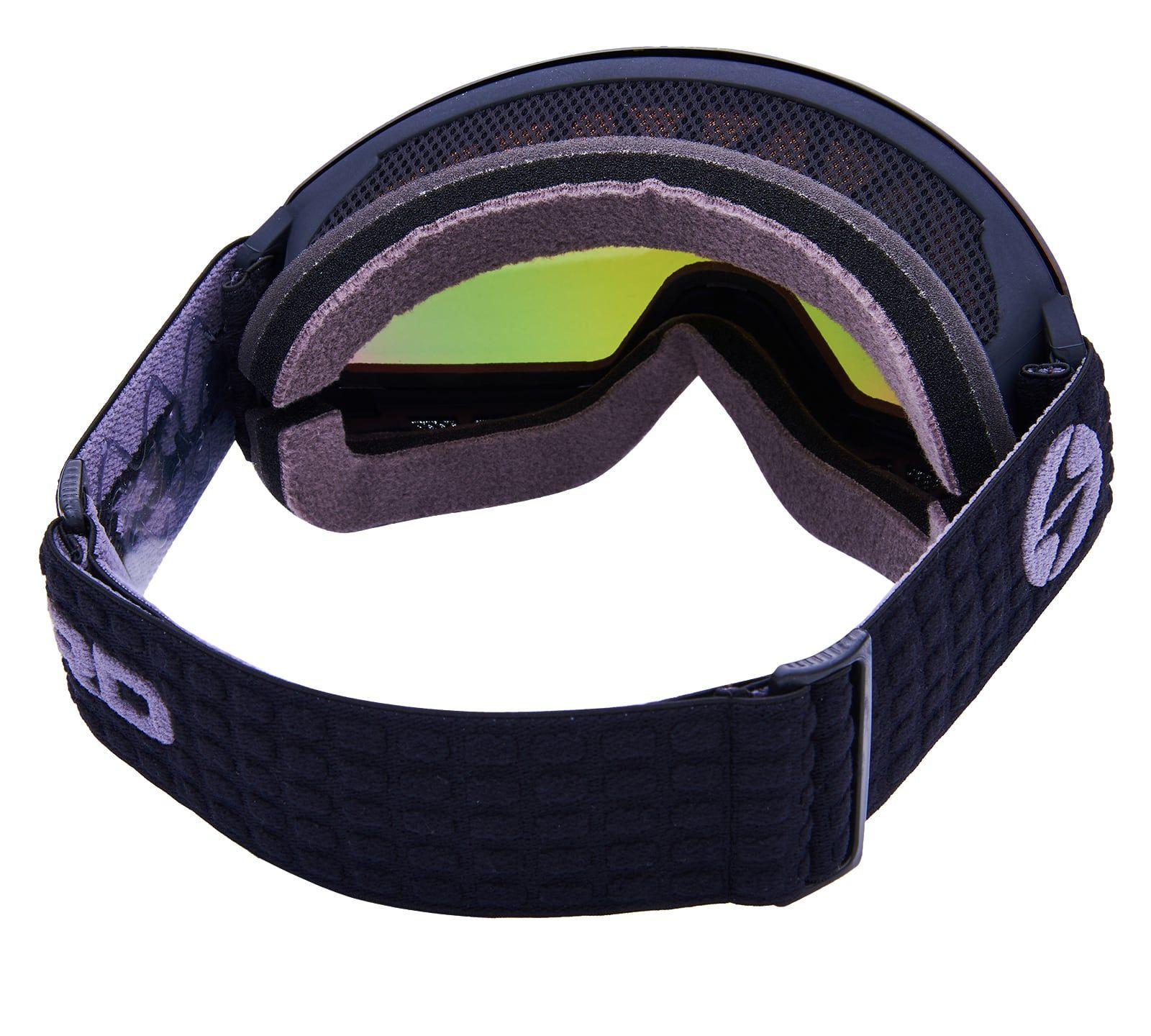 BLIZ Ski Gog. 932 MDAZWO, black , orange2, red REVO SONAR