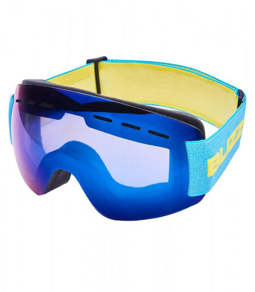Ski Gog. MF02KID DAVZS, smoke2, blue mirror