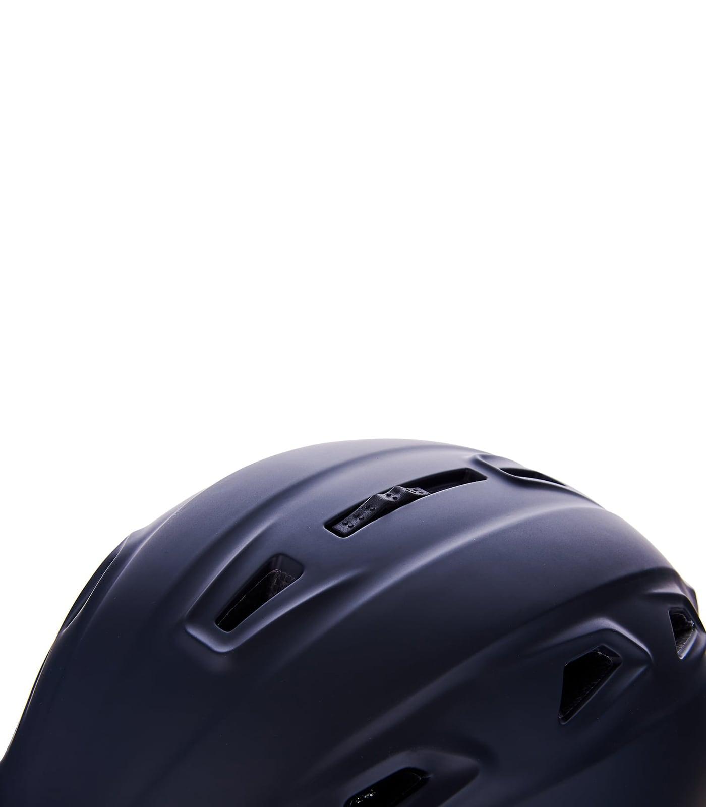 Demon ski helmet, black matt/silver squares