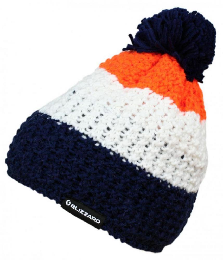 Tricolor,blue/white/orange