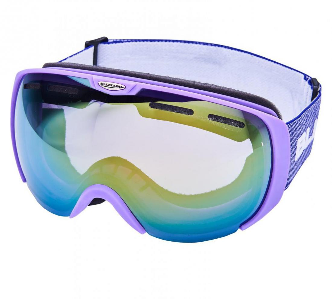 Ski Gog. 921 MDAVZSO, violet matt, smoke2, red mirror
