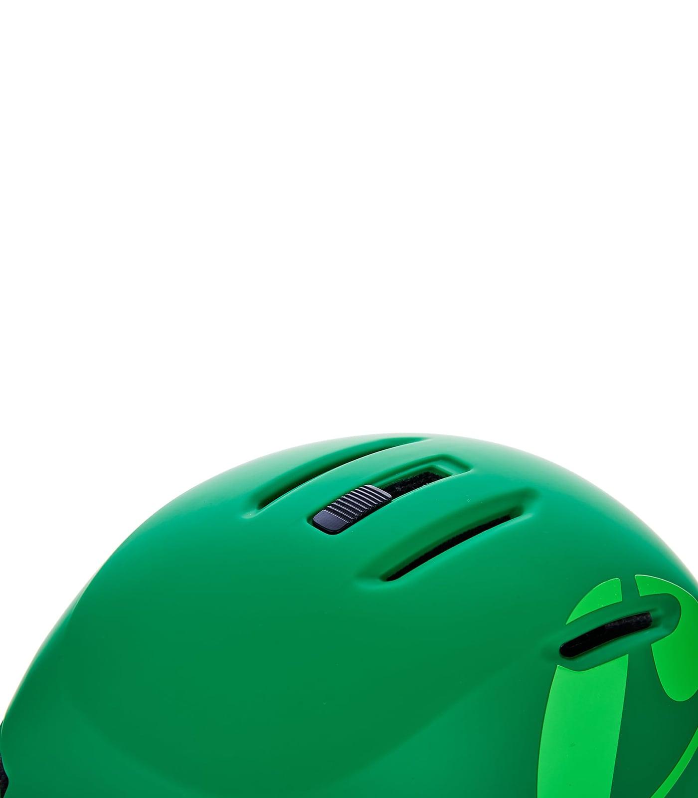 Viper ski helmet junior, dark green matt/bright green matt