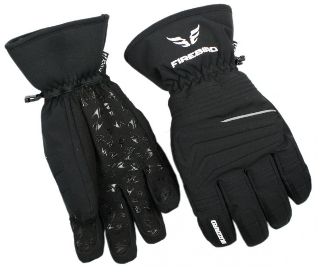 Firebird ski gloves, black