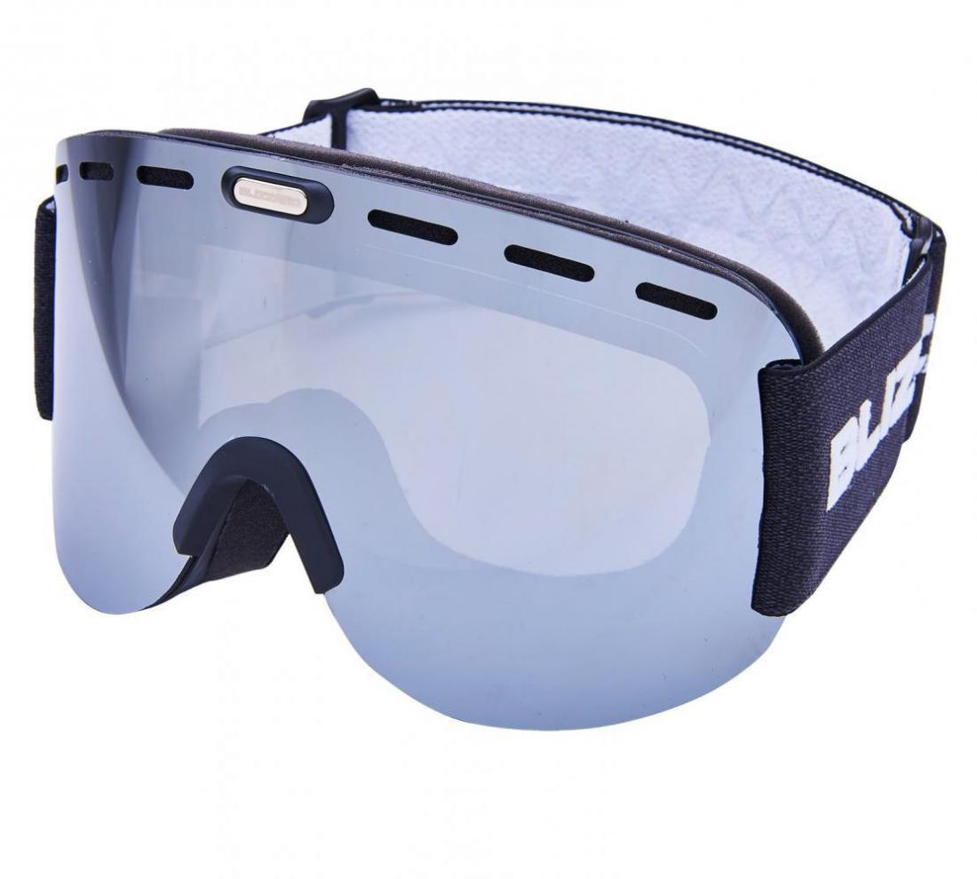 Ski Gog. 922 MDAVZO, black matt, amber2, silver mirror