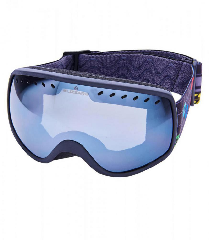 BLIZ Ski Gog. 964 MDAVZOS, black matt, amber2, silver mirror