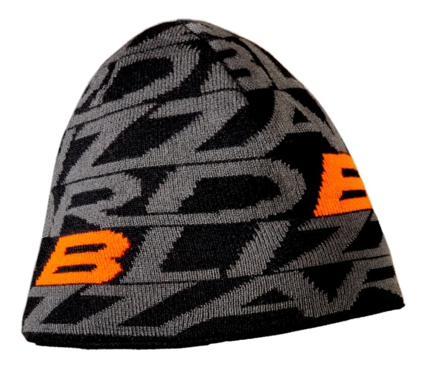 Dragon cap, black/orange