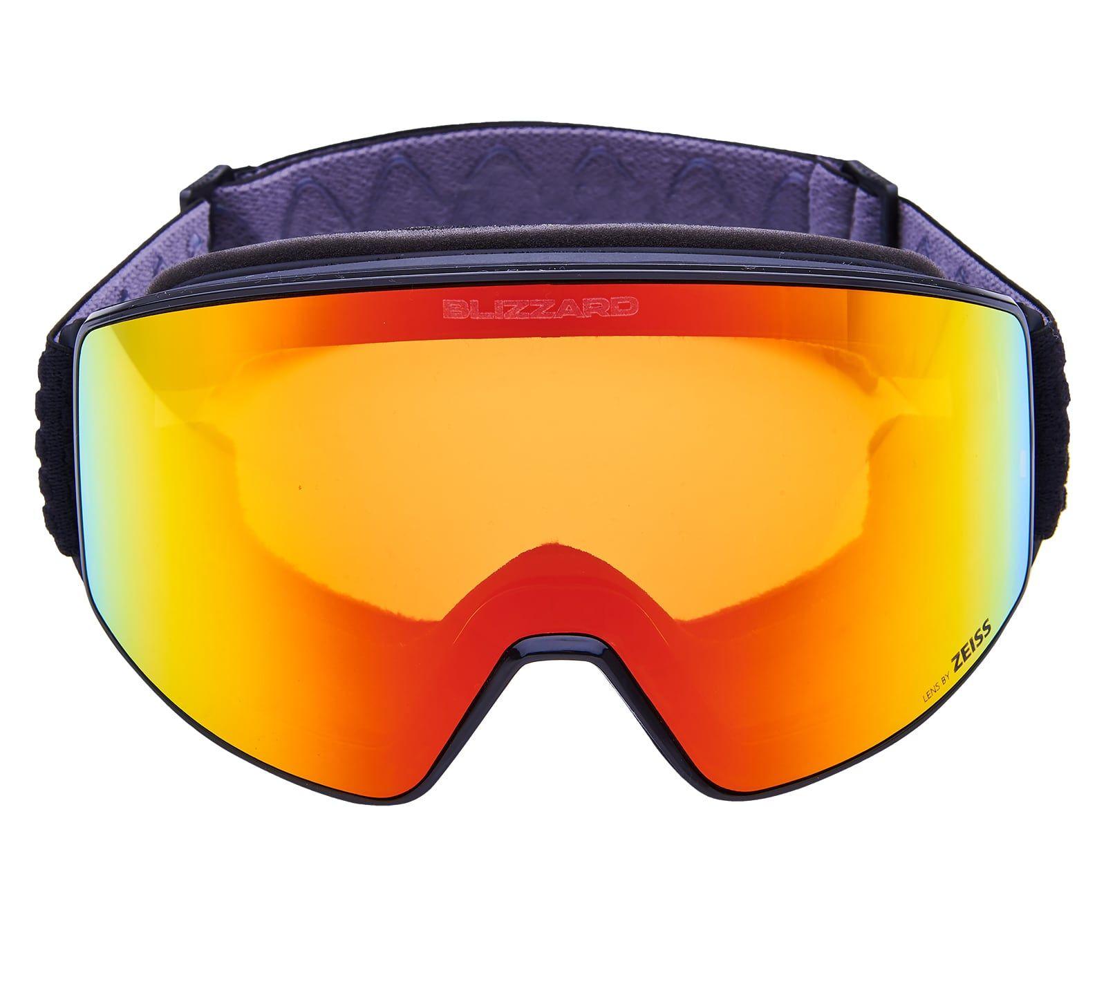 BLIZ Ski Gog. 931 MDAZWO, black matt, orange2, red REVO SONAR