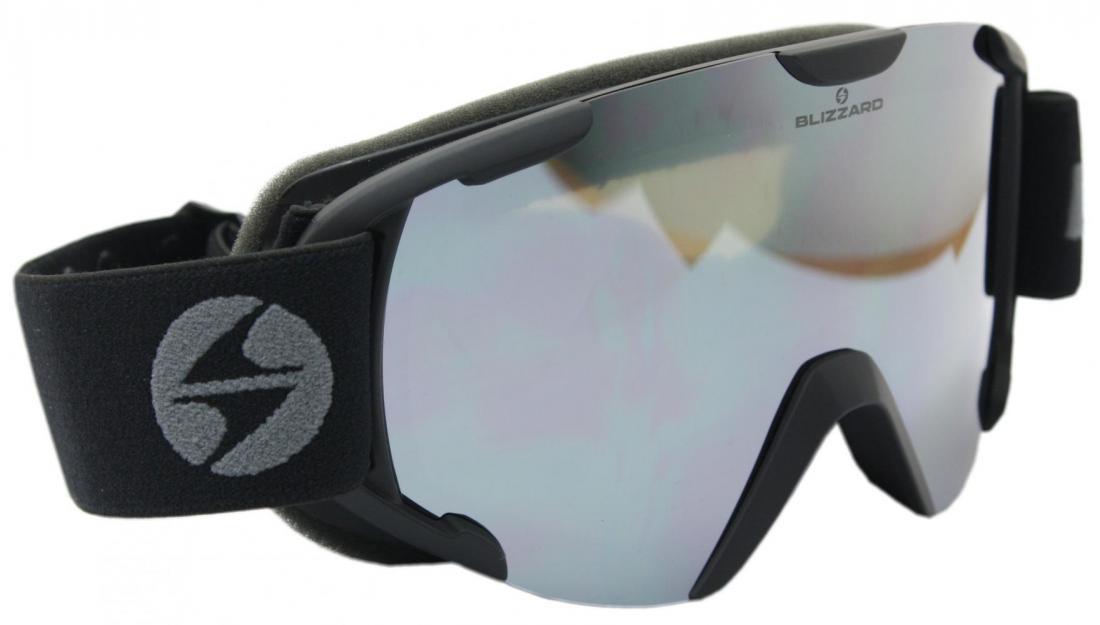 Ski Gog.  938 MDAVZO, black matt, smoke2, black revo