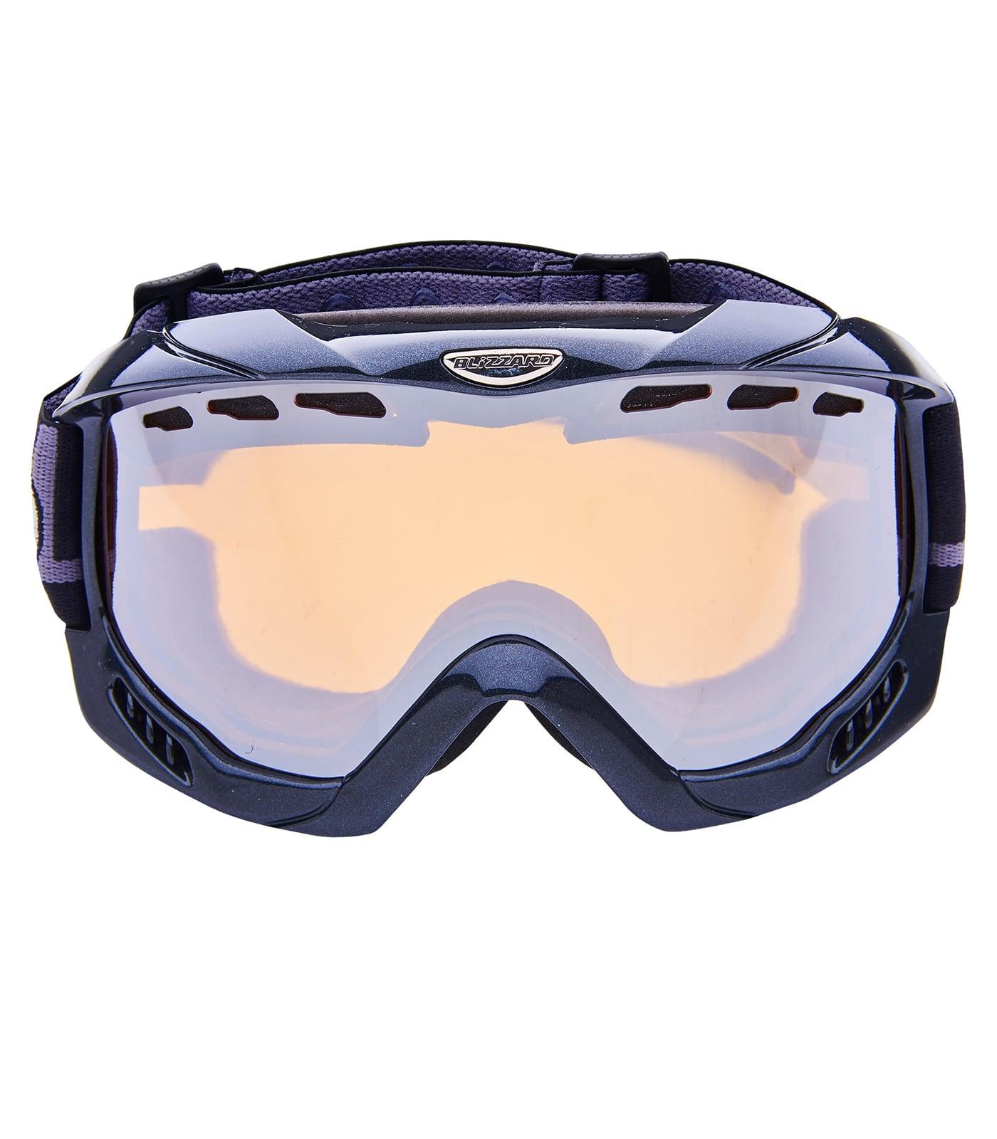 BLIZ Ski Gog. 911 MDAVZFO, black metallic, amber2-3, silver mirror