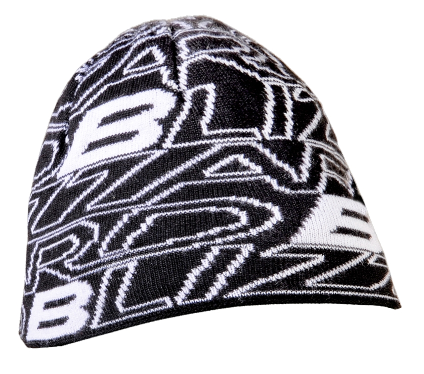 Phoenix cap, black/white