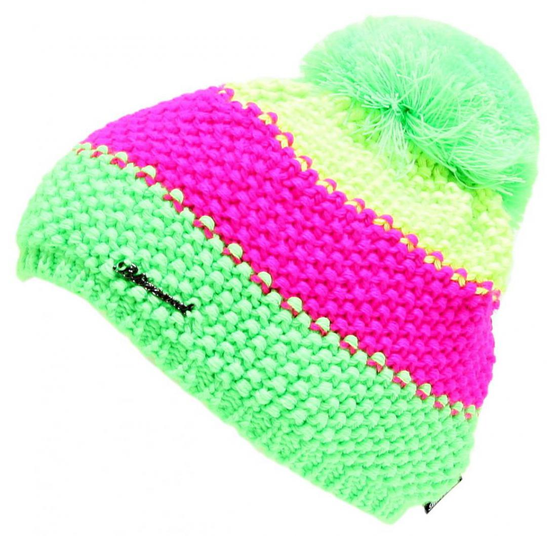 Tricolor, yellow/pink/green