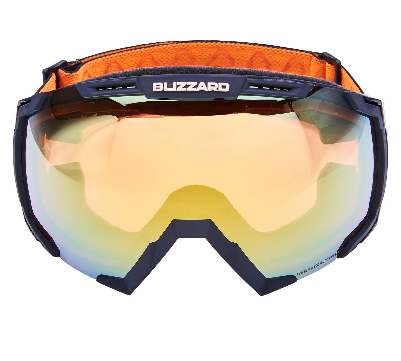 BLIZ Ski Gog. 926 DAVZSWO, black , orange2, orange mirror