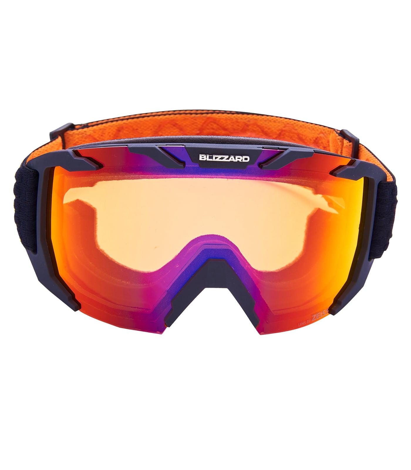 BLIZ Ski Gog. 925 MDAZWO, black matt, orange1, infrared REVO SONAR