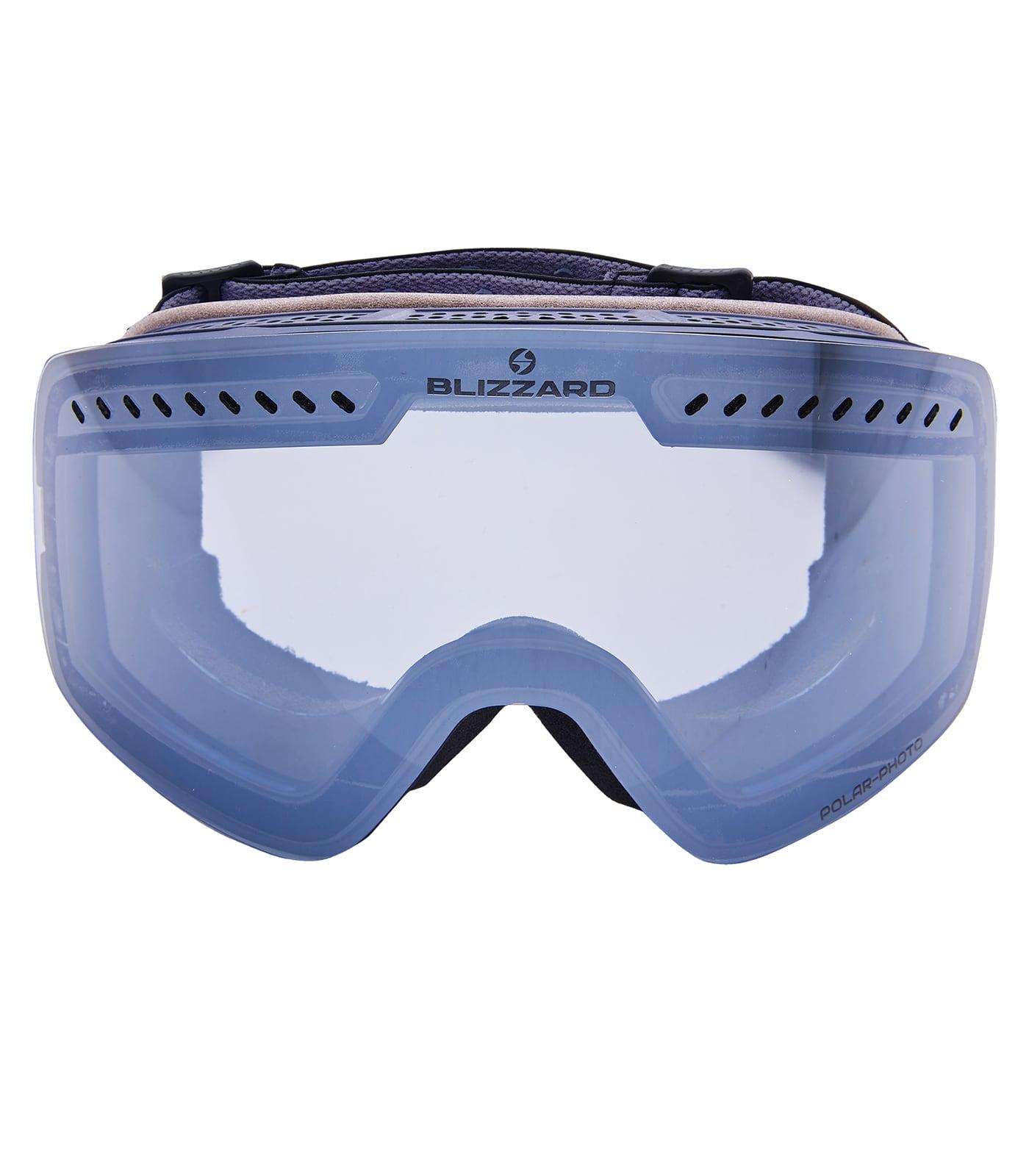 Ski Gog. 985 MDAVFOO, black matt, 1-3, silver mirror