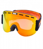 Ski Gog. 922 MDAVZWO, black matt, orange2, silver mirror, smart view