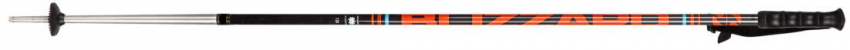 Race 7001/carbon ski poles, black/orange